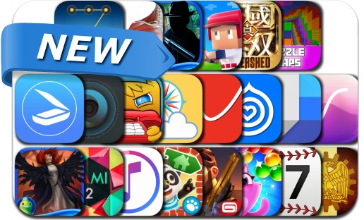 Newly Released iPhone & iPad Apps - March 31, 2017