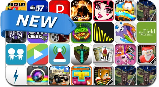 Newly Released iPhone & iPad Apps - November 3