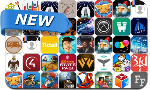 Newly Released iPhone & iPad Apps - September 12, 2014