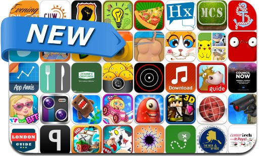 Newly Released iPhone & iPad Apps - July 31