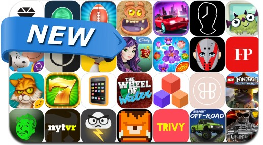 Newly Released iPhone & iPad Apps - November 6, 2015