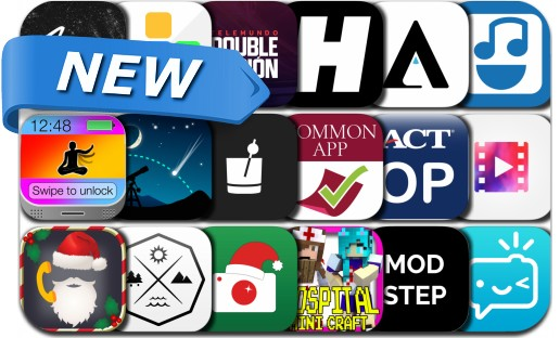 Newly Released iPhone & iPad Apps - December 23, 2015