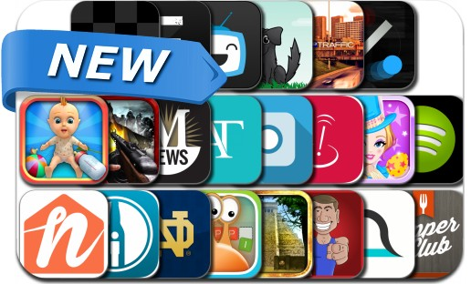 Newly Released iPhone & iPad Apps - April 12, 2014