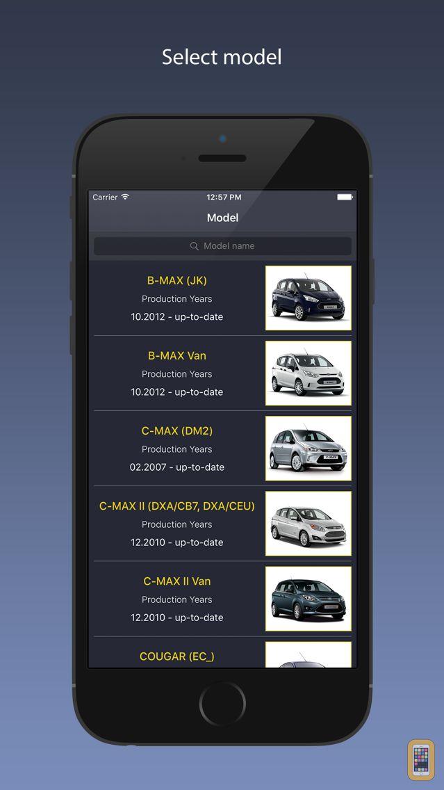 Screenshot - TechApp for Ford