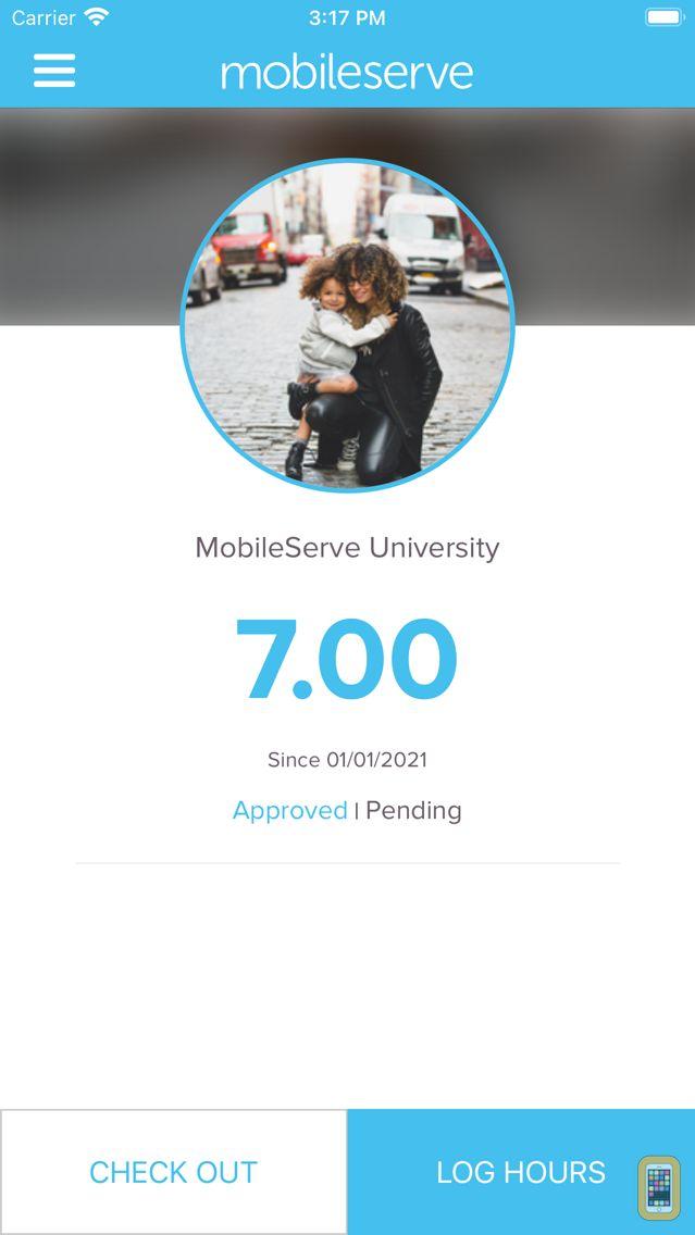 Screenshot - MobileServe App