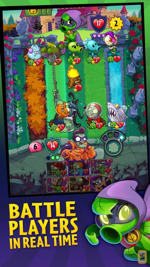 Screenshot - Plants vs. Zombies™ Heroes