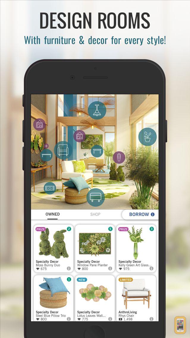Design Home for iPhone & iPad - App Info & Stats | iOSnoops