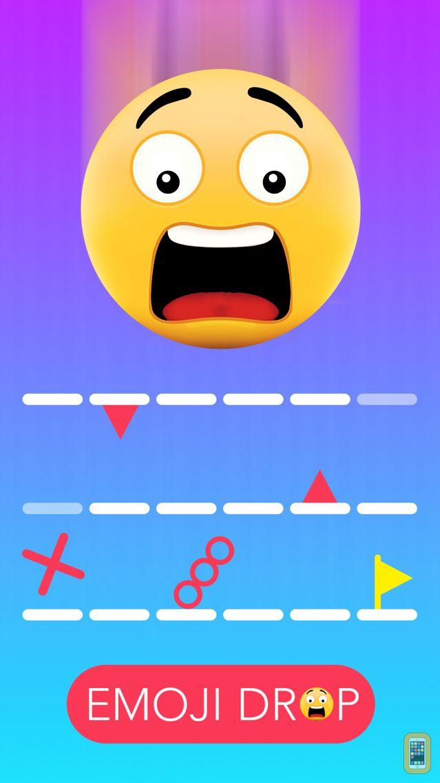 Screenshot - Emoji Drop