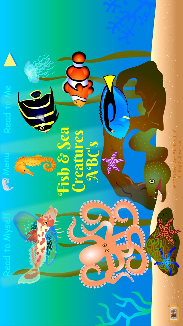Screenshot - Fish & Sea Creatures ABCs
