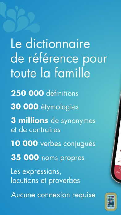 Screenshot - Dictionnaire Le Robert Mobile