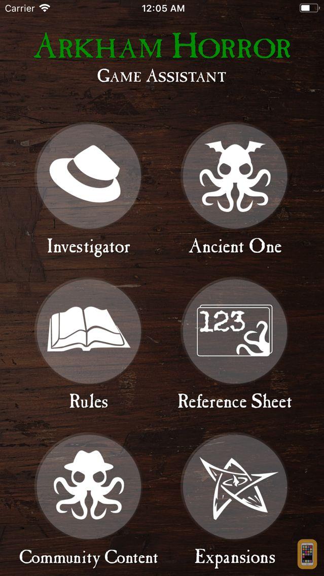 Screenshot - Assistant for Arkham Horror
