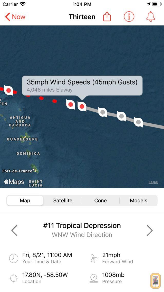 Screenshot - My Hurricane Tracker & Alerts
