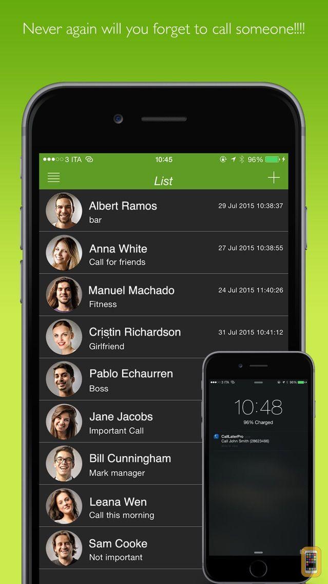 Screenshot - Call Later Pro -Calls reminder