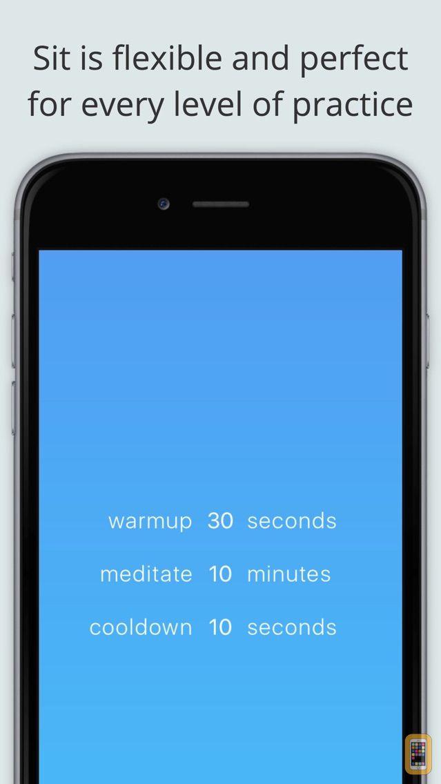 Screenshot - Sit – a beautiful, simple, meditation timer