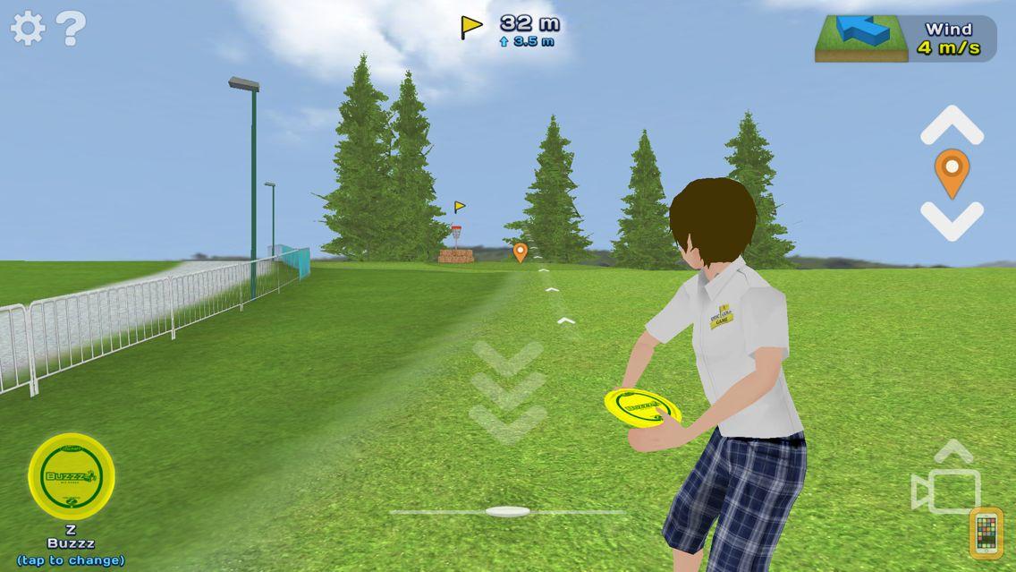 Screenshot - Disc Golf Game
