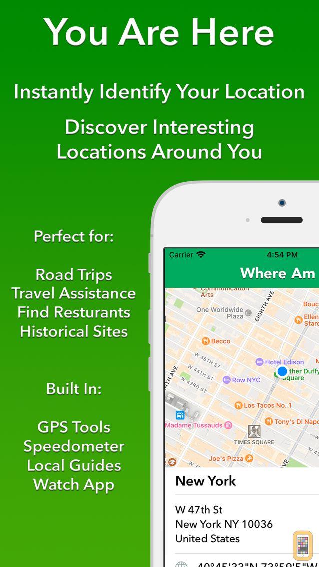 Screenshot - Where Am I - Find My Address