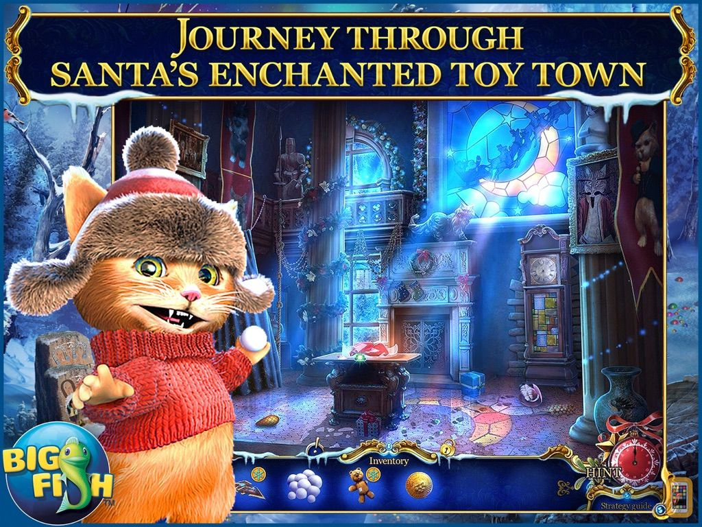 Screenshot - Christmas Stories: Puss in Boots HD - A Magical Hidden Object Game (Full)