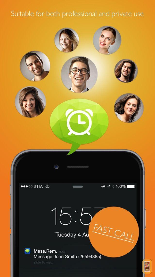 Screenshot - Reminder Message  Pro