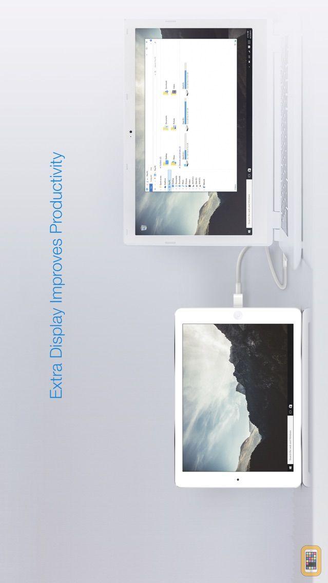 Screenshot - Splashtop Wired XDisplay – Extend & Mirror