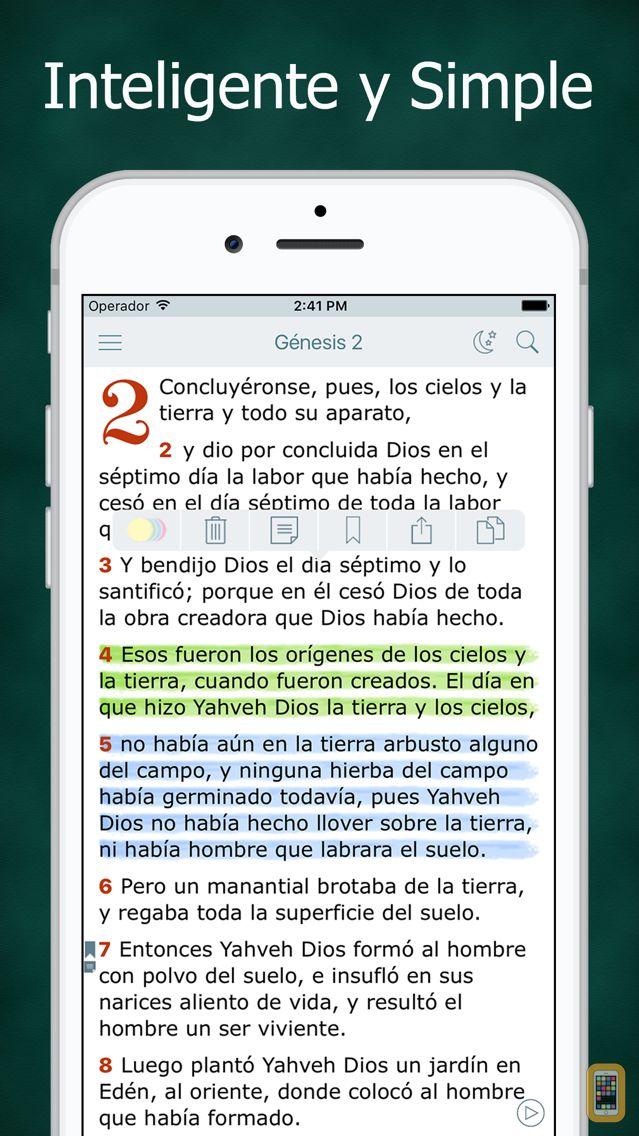 Screenshot - Biblia Católica en Español