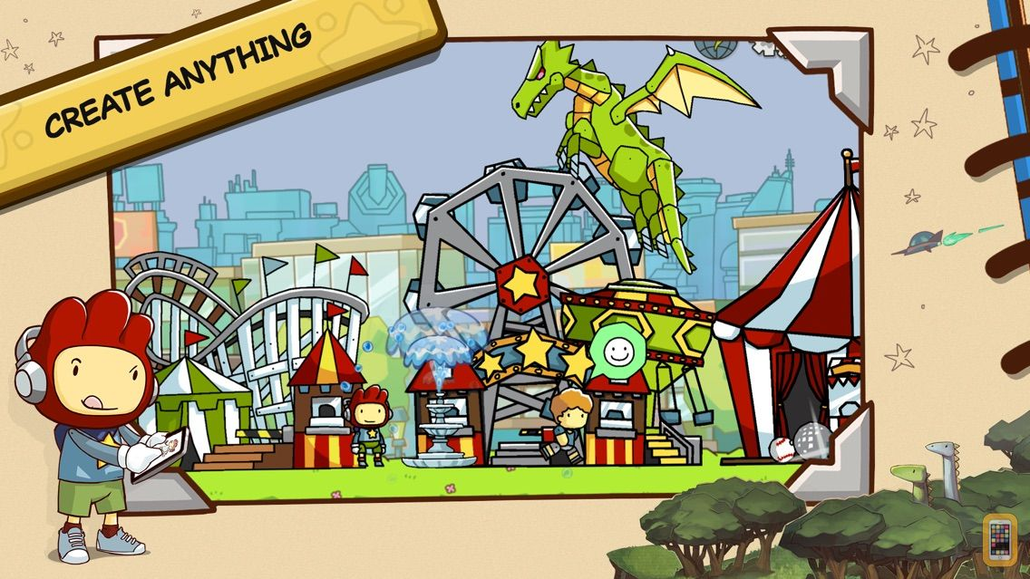 Screenshot - Scribblenauts Unlimited