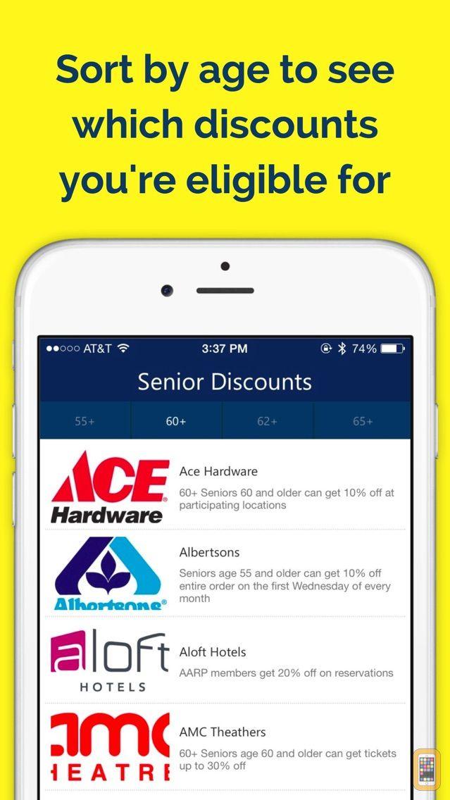 Screenshot - Senior Discounts — Money Saving Guide
