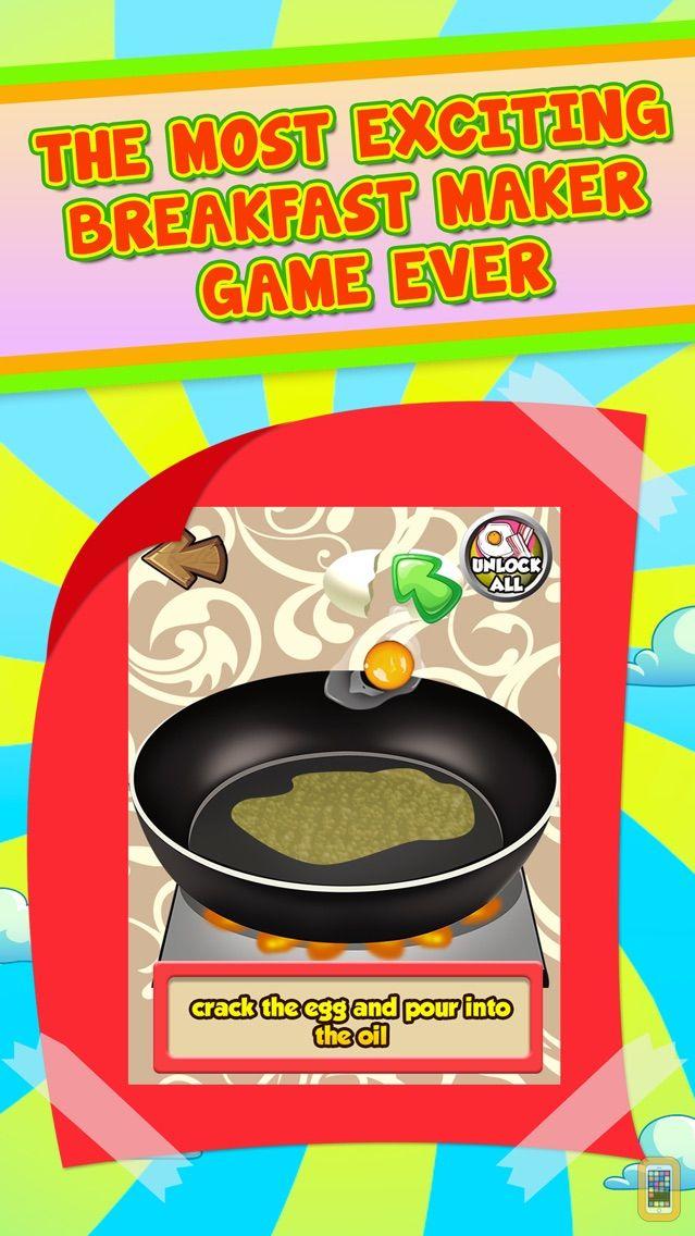 Screenshot - Breakfast Food Maker Salon - Fun School Lunch Cooking Kids Games for Girls & Boys!