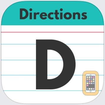 Following Directions by TSApps by Teach Speech Apps, LLC (Universal)