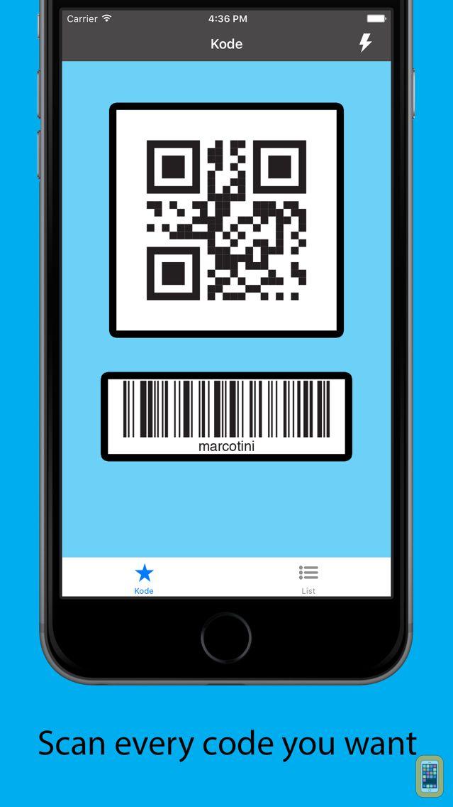 Screenshot - Kode QR