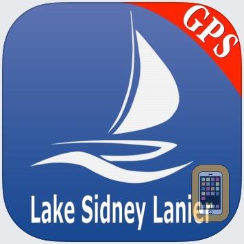 Lake Sidney Lanier GPS Charts by MapITech (iPhone)