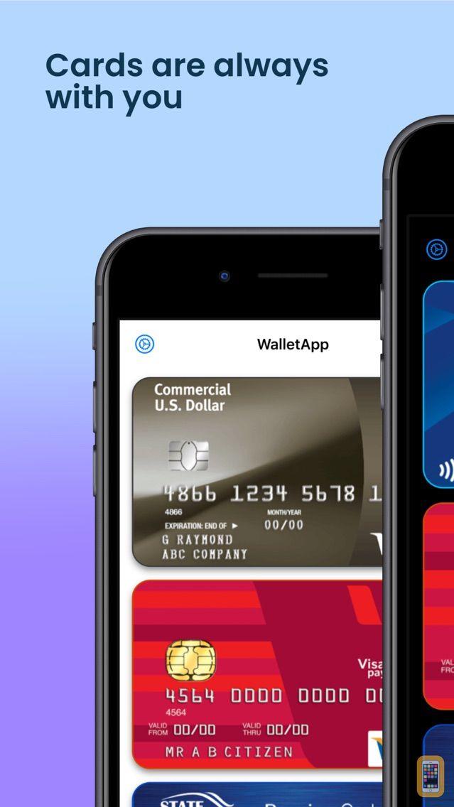 Screenshot - Wallet App