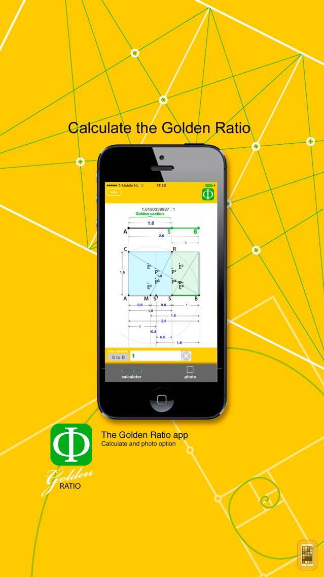 Screenshot - Golden Ratio calculate and photo