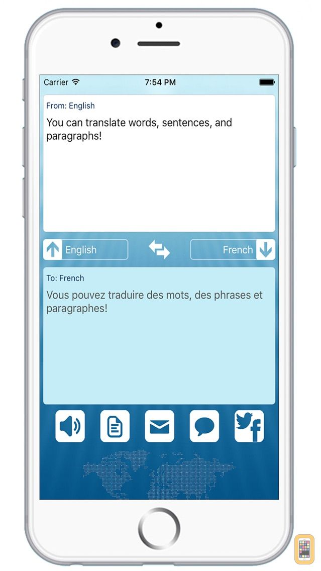 Screenshot - Translator Dictionary - Best All Language Translation to Translate Text with Audio Voice