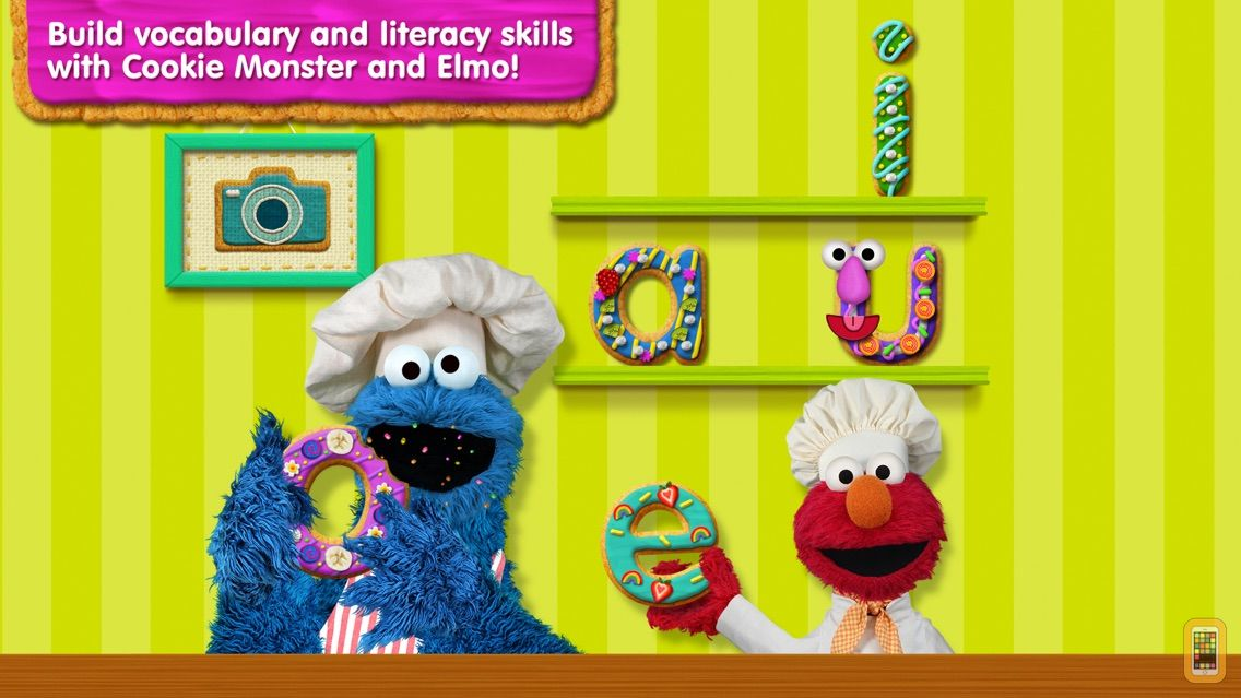 Screenshot - Sesame Street Alphabet Kitchen