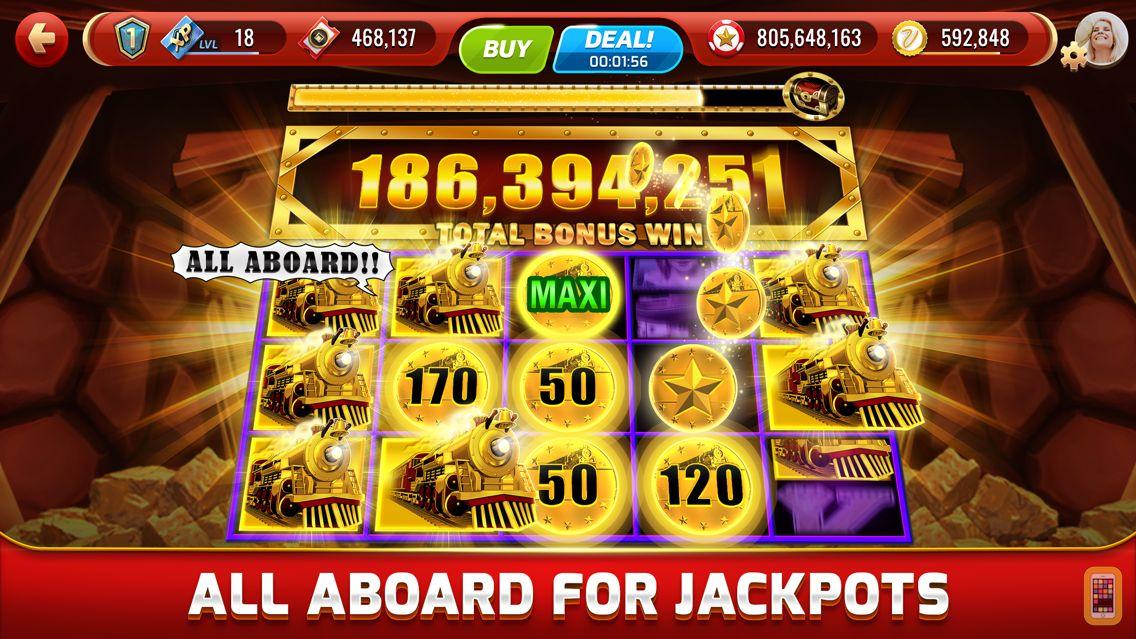 Screenshot - my KONAMI - Real Vegas Slots