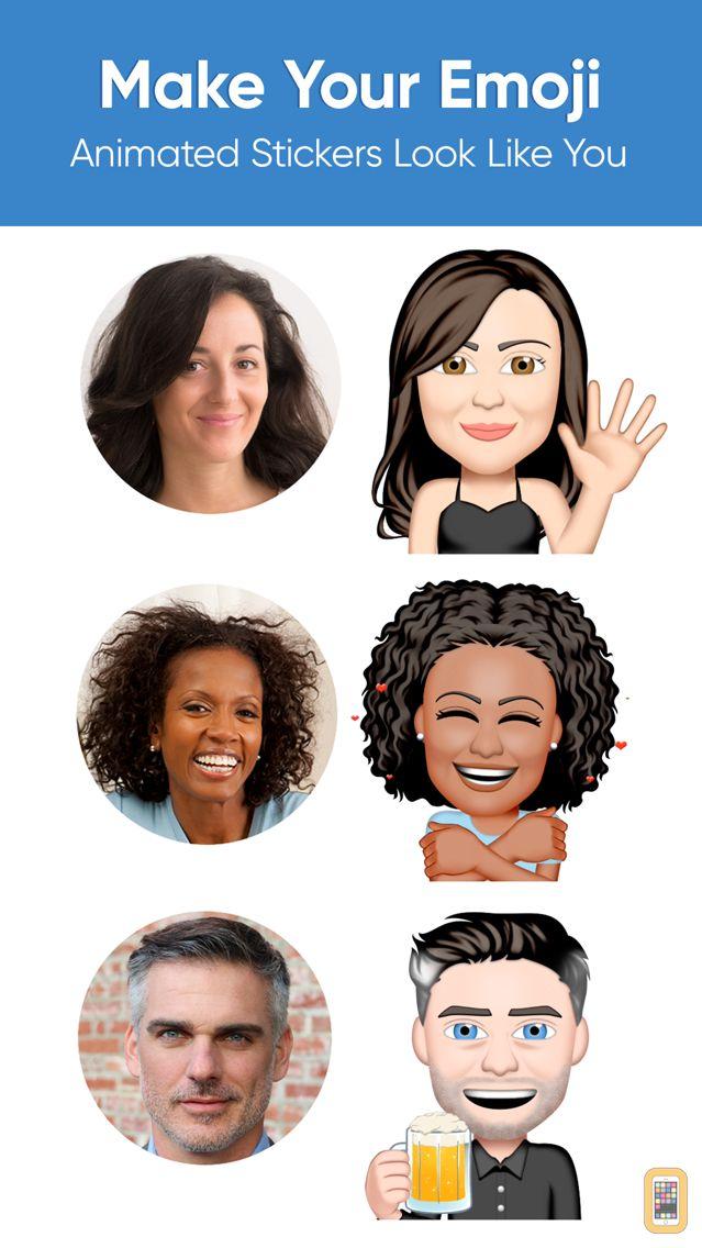 Screenshot - Emoji Me Animated Faces