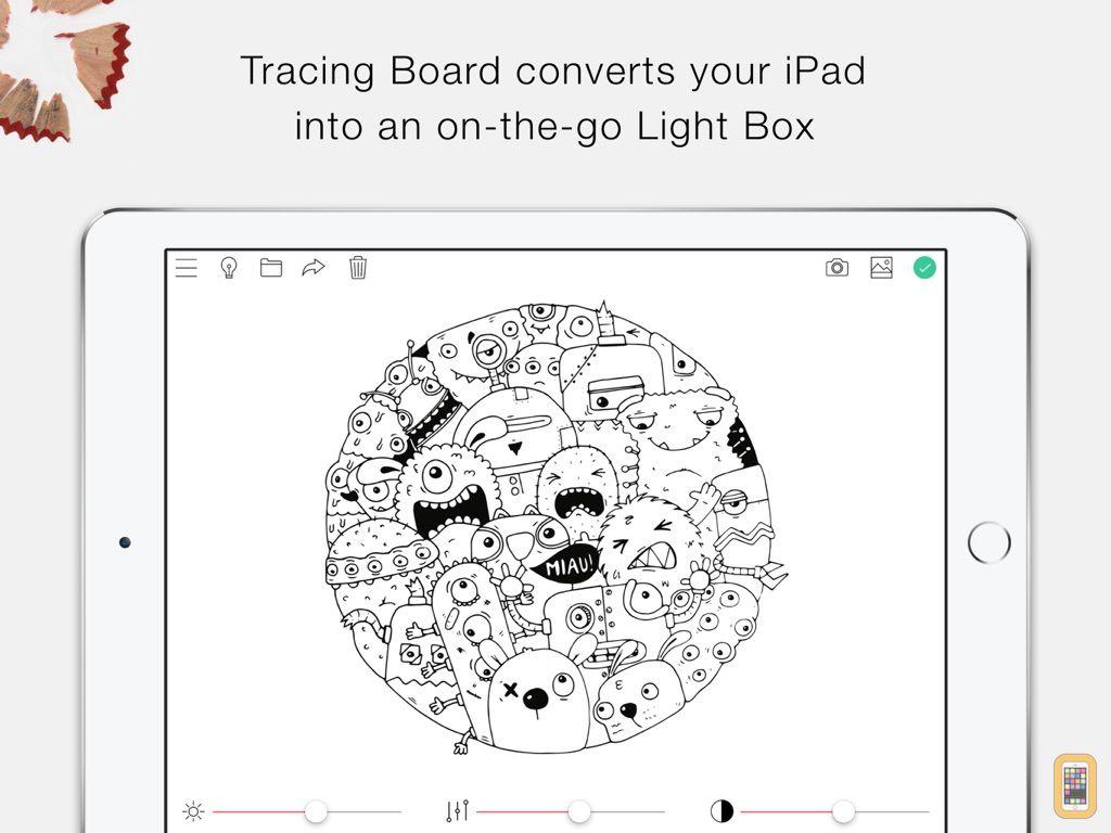 Screenshot - Tracing Board