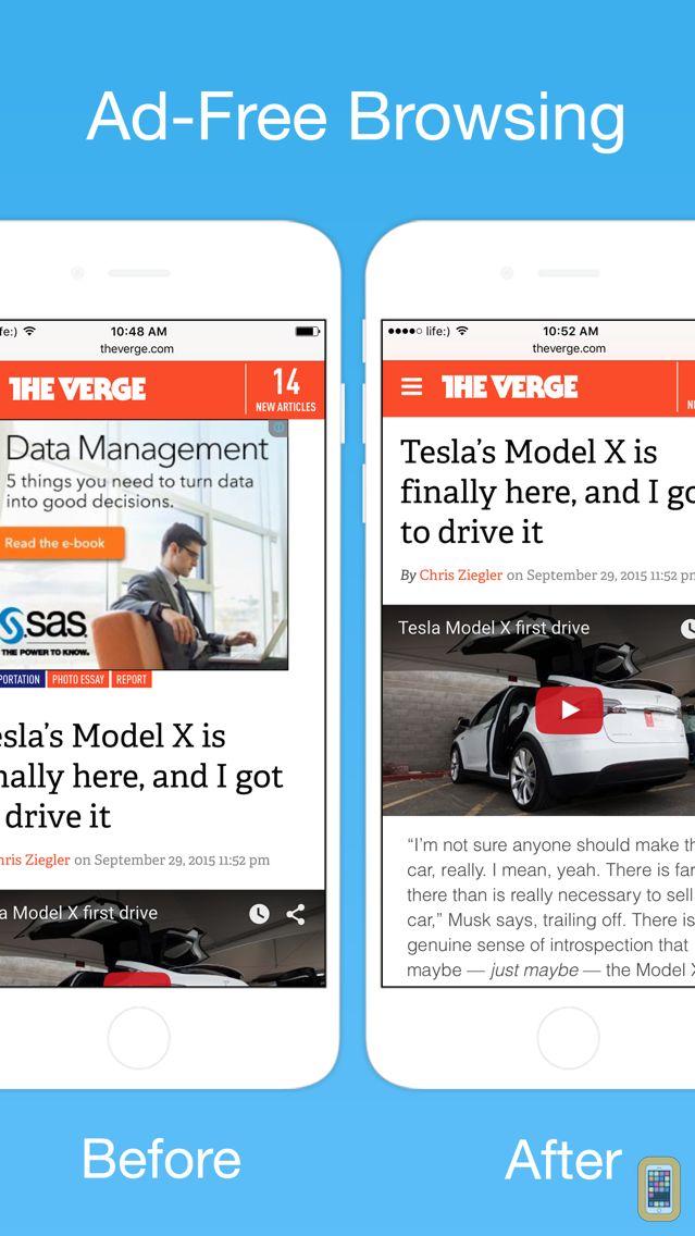 Screenshot - Stop Ads - The Ultimate Ad-Blocker for Safari