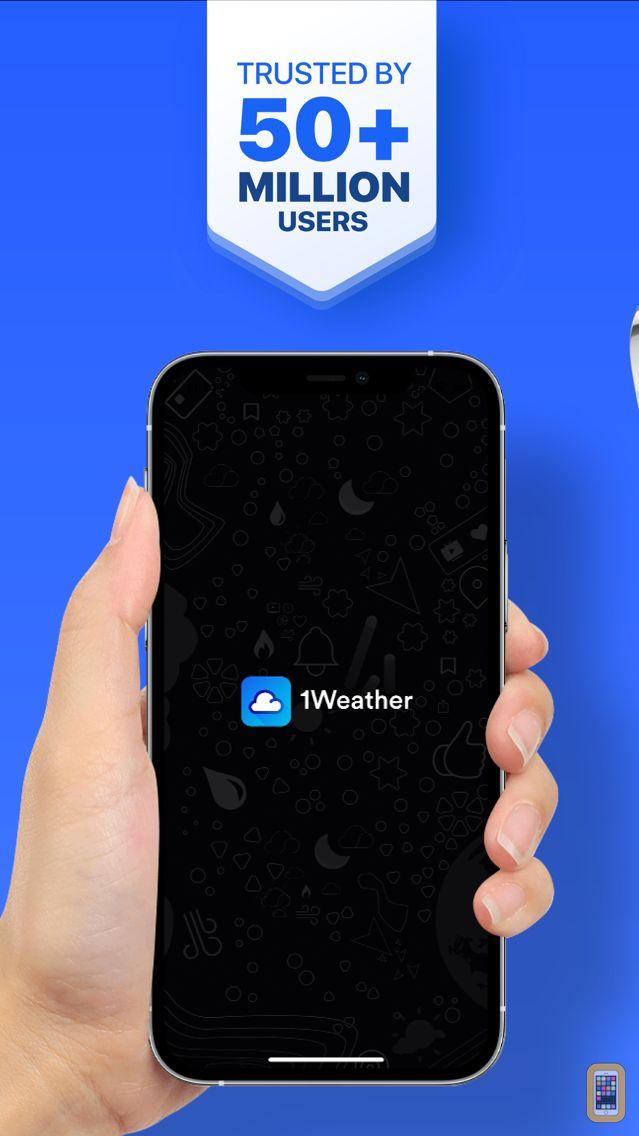 Screenshot - 1Weather: Forecast and Radar