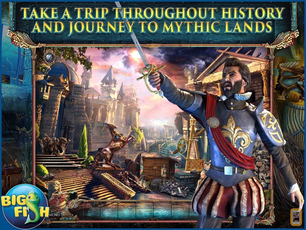 Screenshot - The Secret Order: Beyond Time HD - A Hidden Object Adventure (Full)