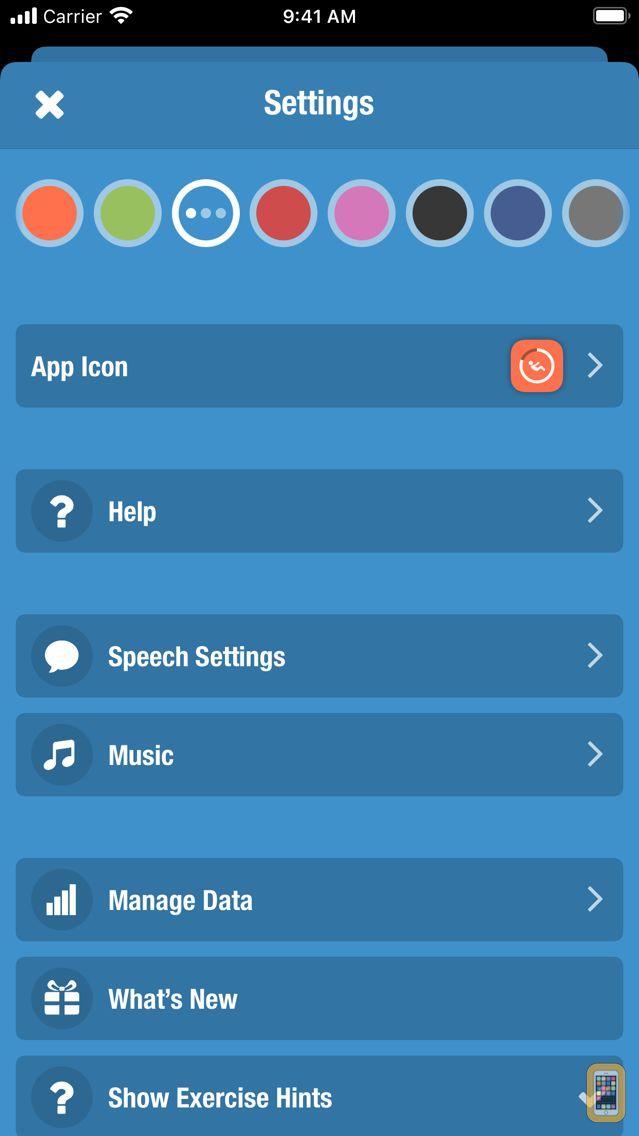 Screenshot - Streaks Workout
