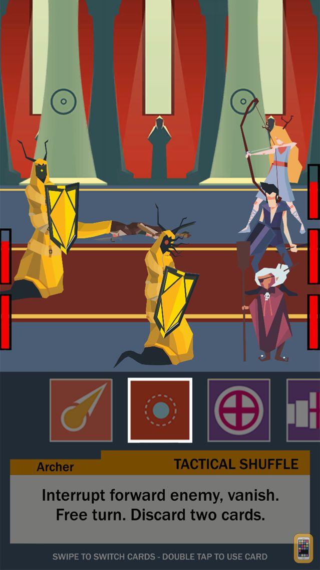 Screenshot - Five Card Quest - Tactical RPG Battles