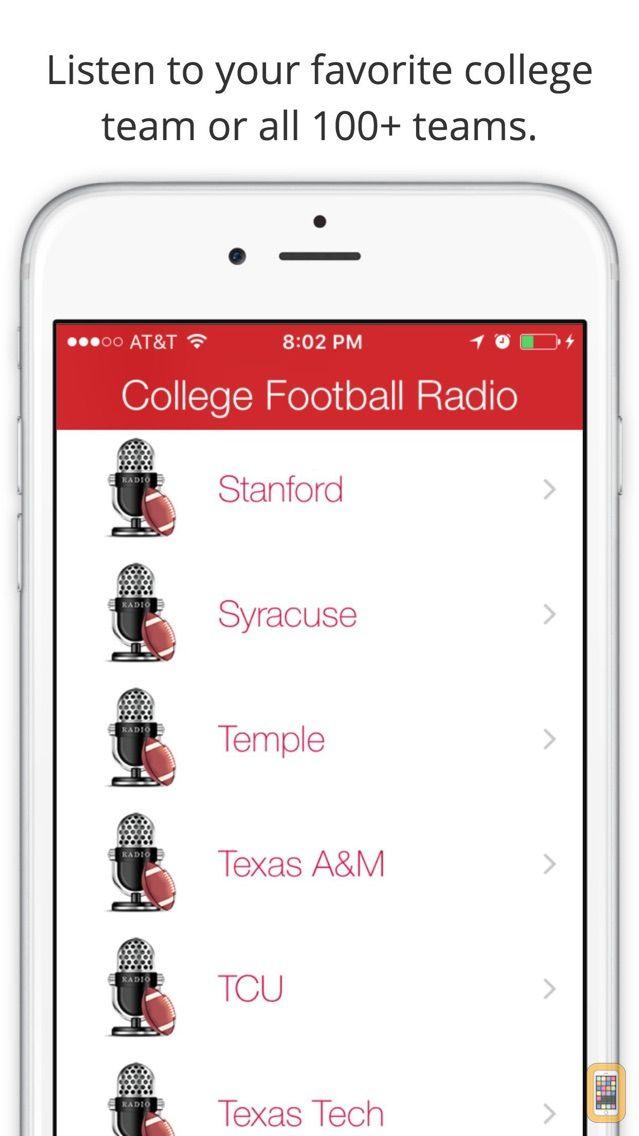 Screenshot - GameDay College Football Radio