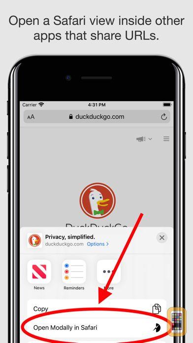 Screenshot - Sidefari - Web browsing companion for Safari