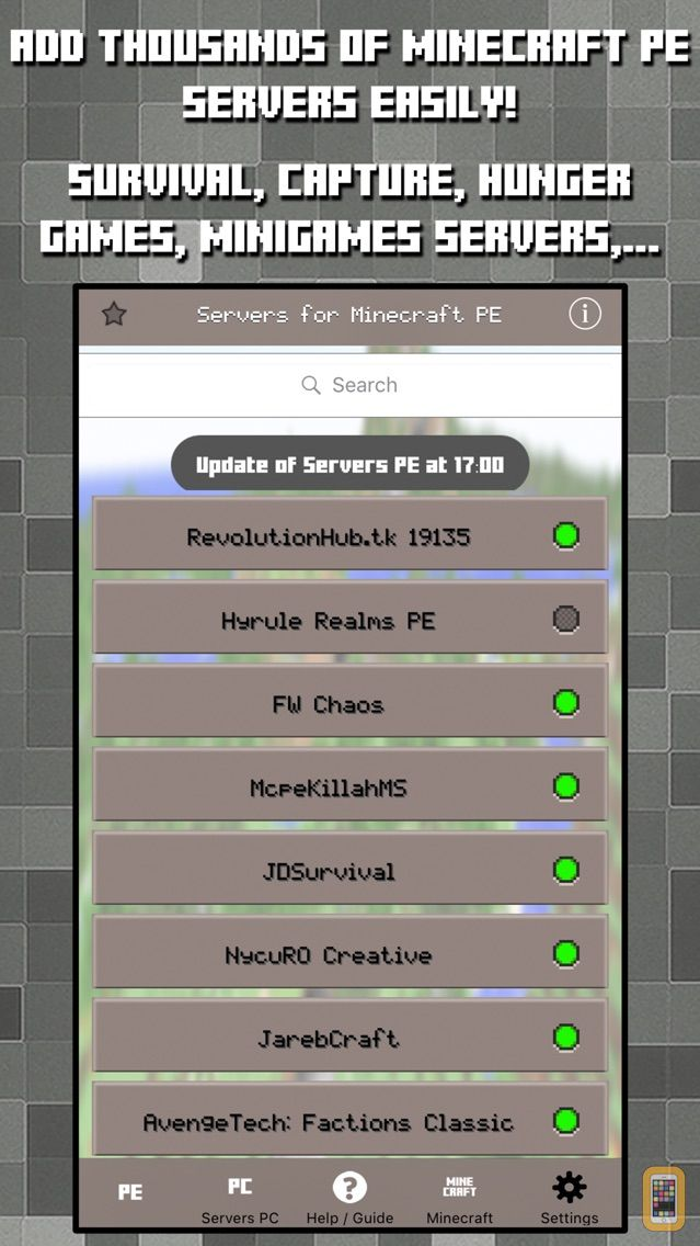 Screenshot - Multiplayer Servers for Minecraft PE & PC w Mods