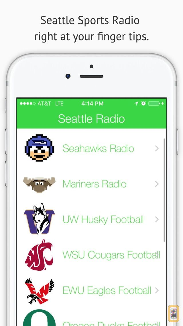Screenshot - Seattle GameDay Sports Radio – Seahawks and Mariners Edition
