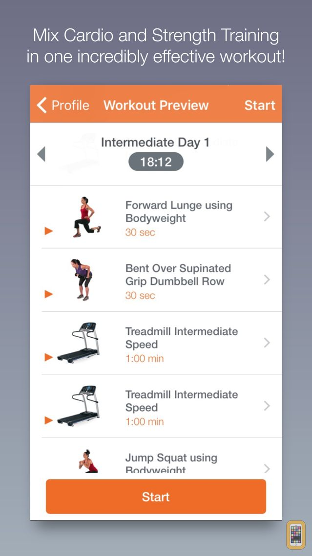 Screenshot - QuickFit — Fitness for Busy People