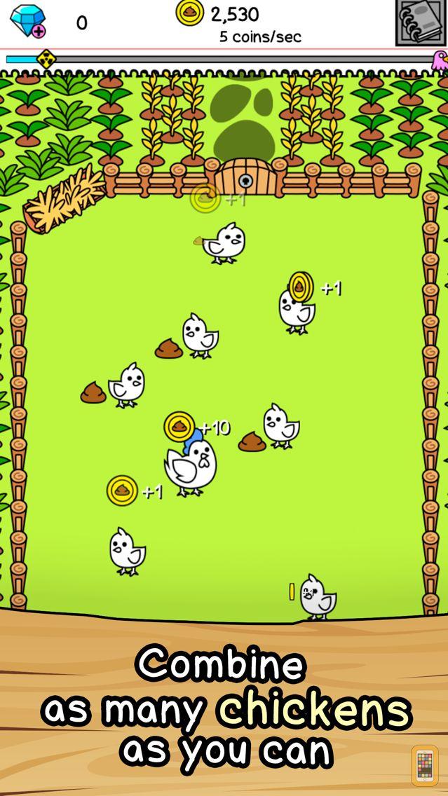 Screenshot - Chicken Evolution | Clicker Game of the Mutant Farm
