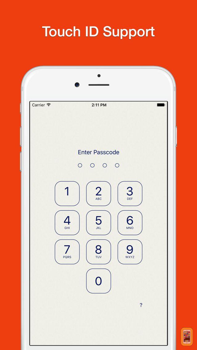 Screenshot - Lock Notes Pro