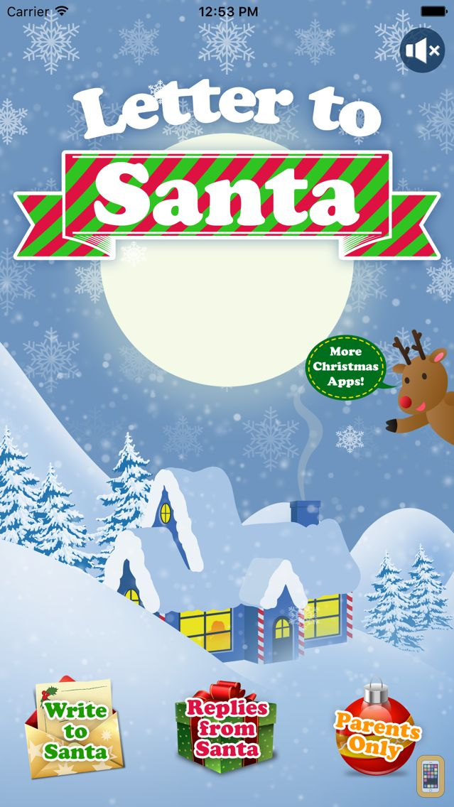 Screenshot - Letter to Santa Claus - Write to Santa North Pole